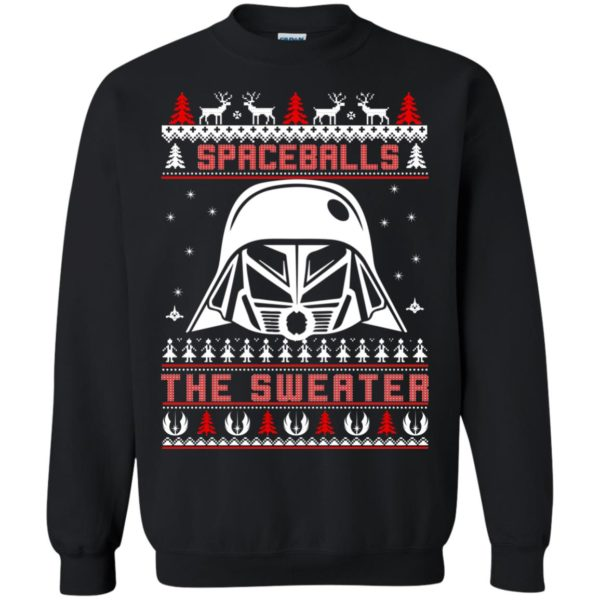 image 1873 600x600 - Spaceballs Darth Vader Christmas Sweater, Shirt