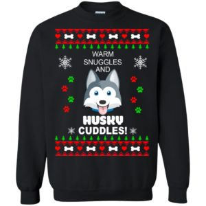 image 1945 300x300 - Warm snuggles and Husky cuddles Christmas sweater