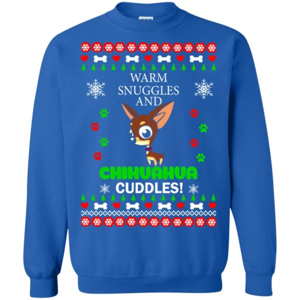image 1961 600x600 - Warm snuggles and Chihuahua cuddles Christmas sweater