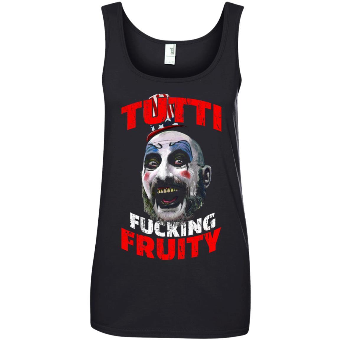 image 209 - Captain Spaulding: Tutti Fucking Fruity shirt, hoodie, tank