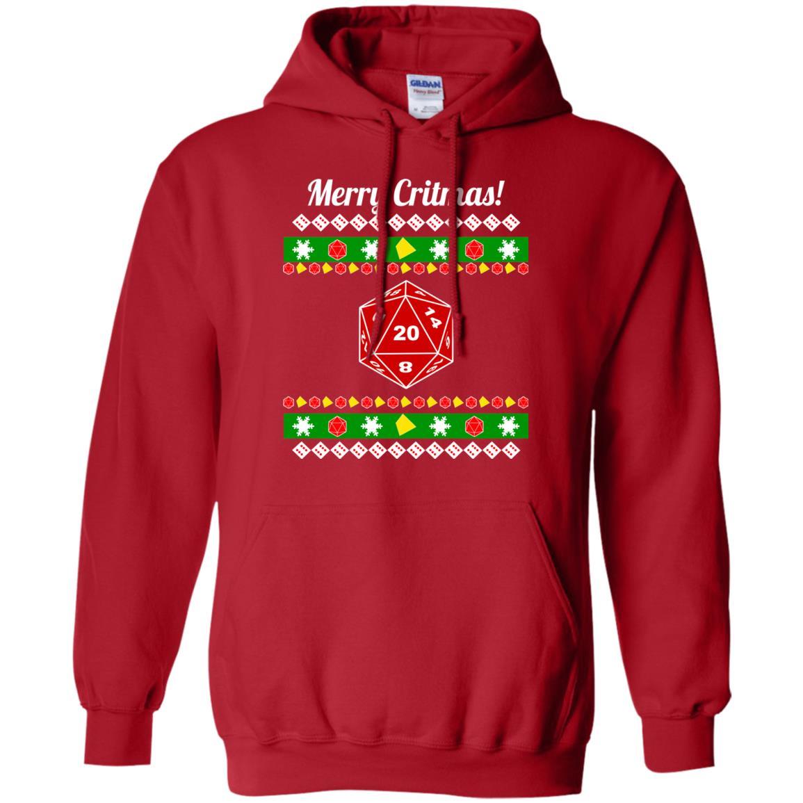 image 2208 - Merry Critmas Christmas ugly Sweatshirts, Long Sleeve