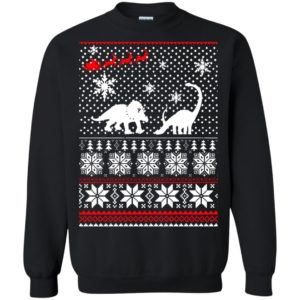 image 2233 300x300 - Santa Dinosaur Ugly Christmas Sweater, Shirt