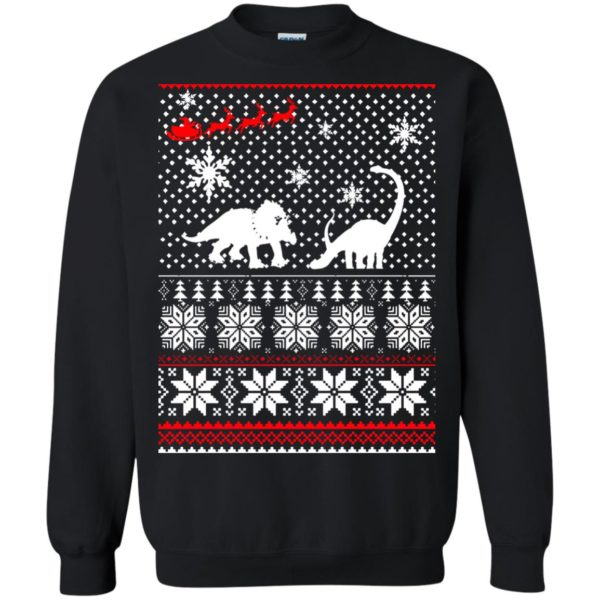 image 2233 600x600 - Santa Dinosaur Ugly Christmas Sweater, Shirt