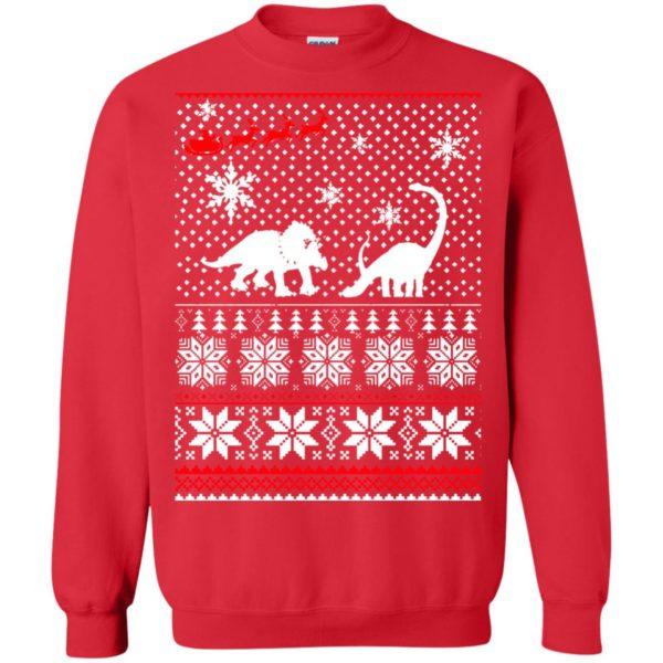 image 2235 600x600 - Santa Dinosaur Ugly Christmas Sweater, Shirt