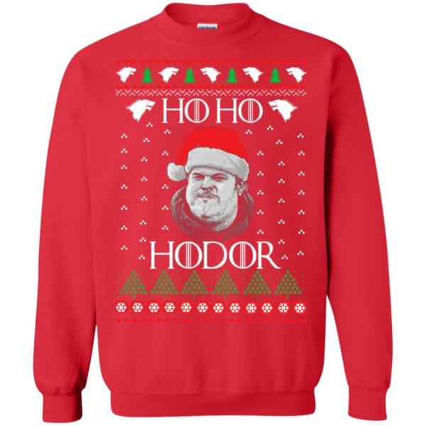 image 2343 600x600 - Ugly Christmas Sweater GOT HO HO HODOR Sweatshirts, Hoodie