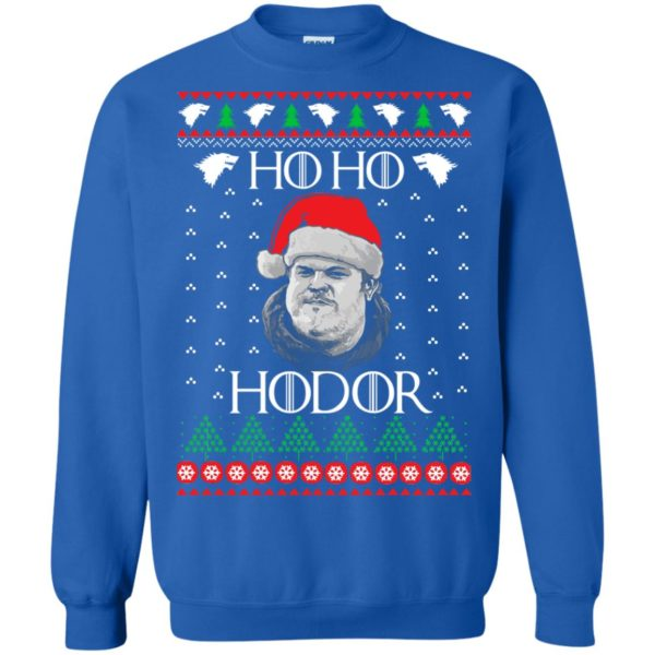 image 2345 600x600 - Ugly Christmas Sweater GOT HO HO HODOR Sweatshirts, Hoodie