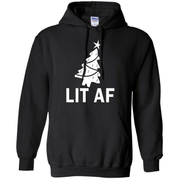 image 2362 600x600 - LIT AF Christmas Ugly Sweatshirt, Long Sleeve