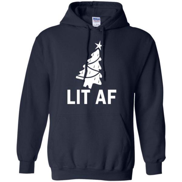 image 2363 600x600 - LIT AF Christmas Ugly Sweatshirt, Long Sleeve