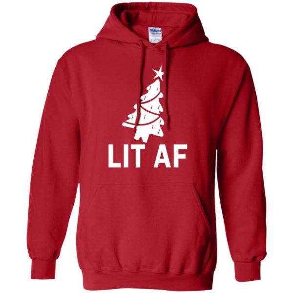 image 2364 600x600 - LIT AF Christmas Ugly Sweatshirt, Long Sleeve