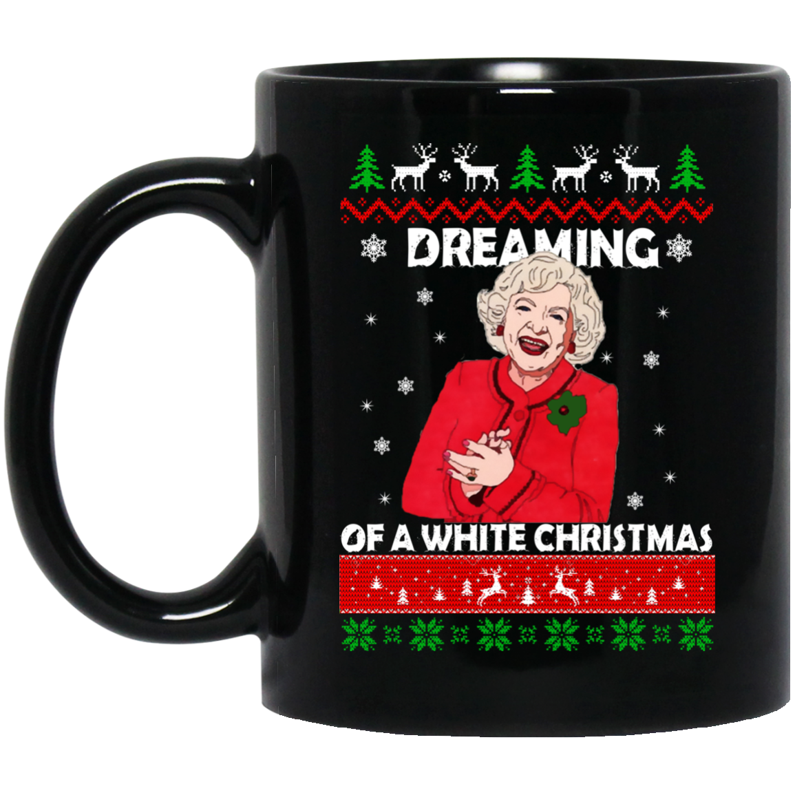 image 24 - Dreaming of a white Christmas mug