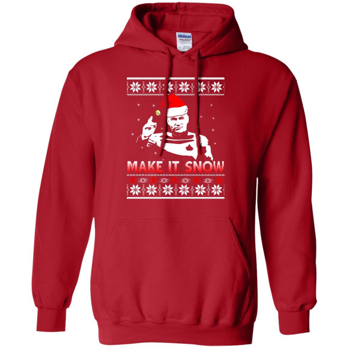 image 2412 - Star Trek make it snow Christmas Sweater, Shirt