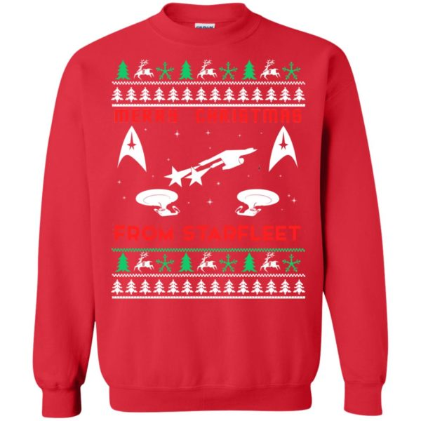 image 2451 600x600 - Star Trek: Merry Christmas From Starfleet Ugly Sweater, Christmas Sweater