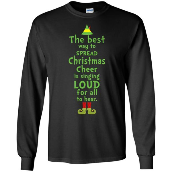 image 2455 600x600 - The best way to spread Christmas cheer is singing loud for all to hear Sweater, Shirt