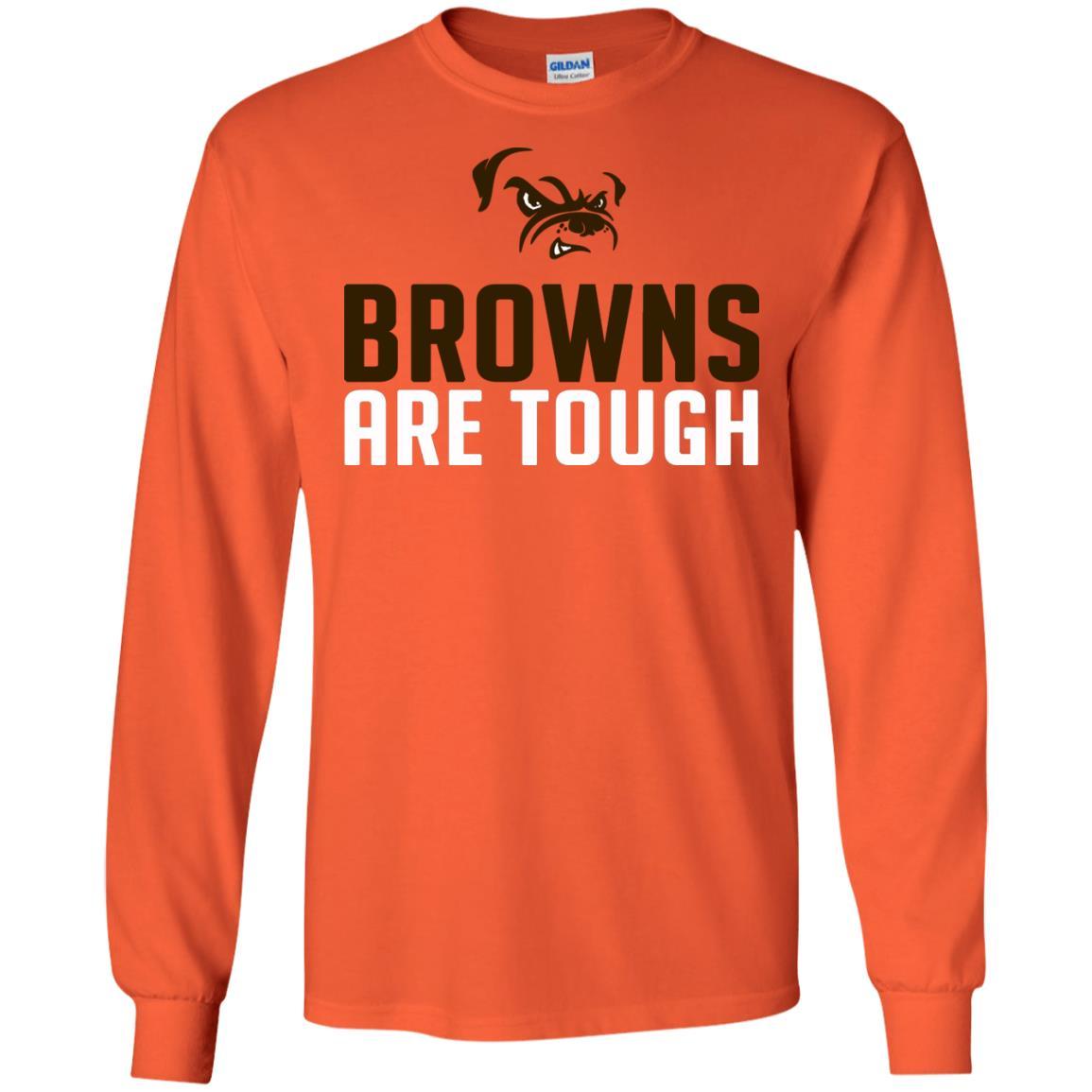 image 2481 - Cleveland Joe Thomas Browns are tough shirt