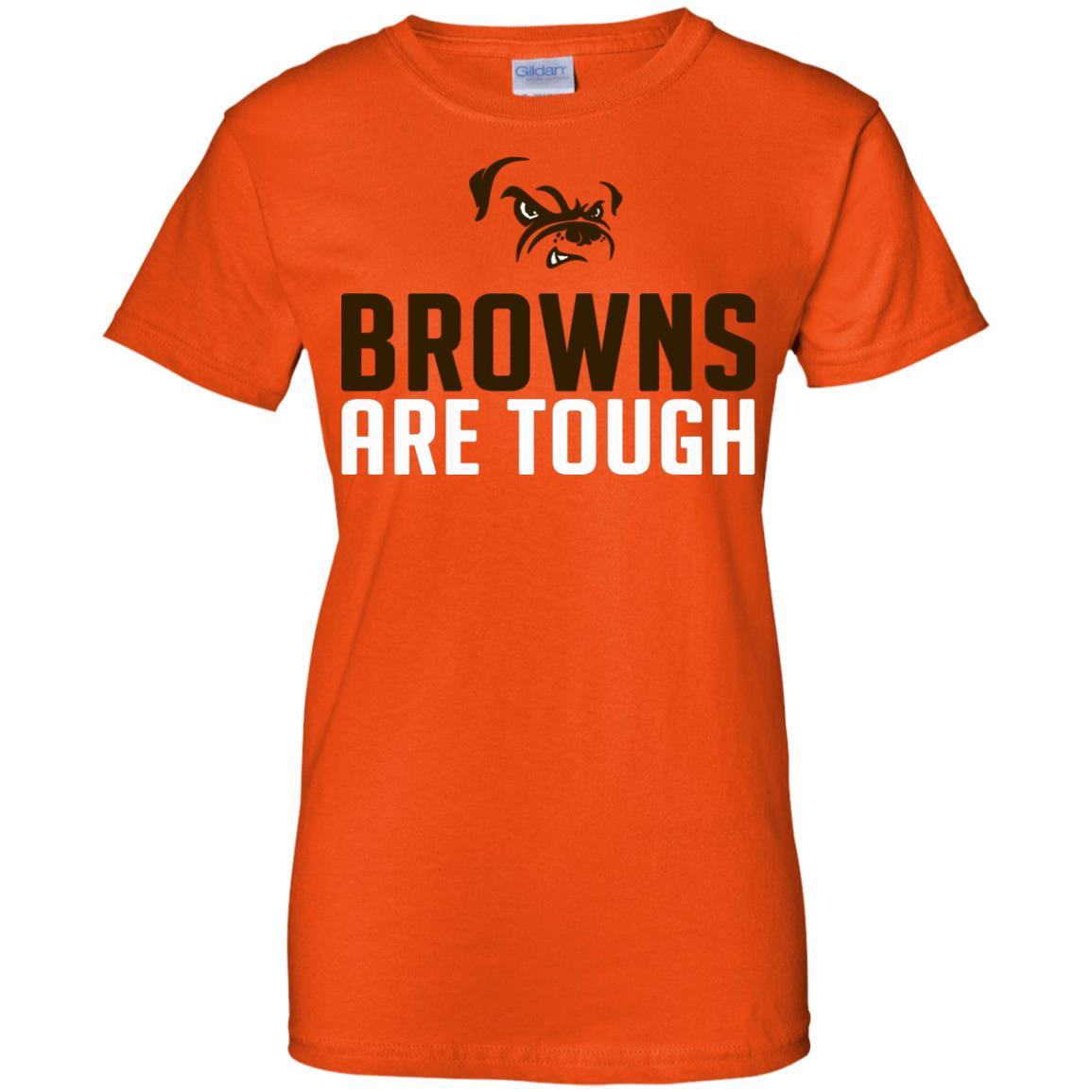 image 2486 - Cleveland Joe Thomas Browns are tough shirt