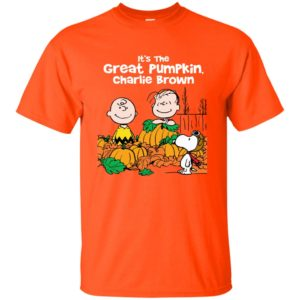 image 254 300x300 - It's the Great Pumpkin Charlie Brown shirt, hoodie, tank