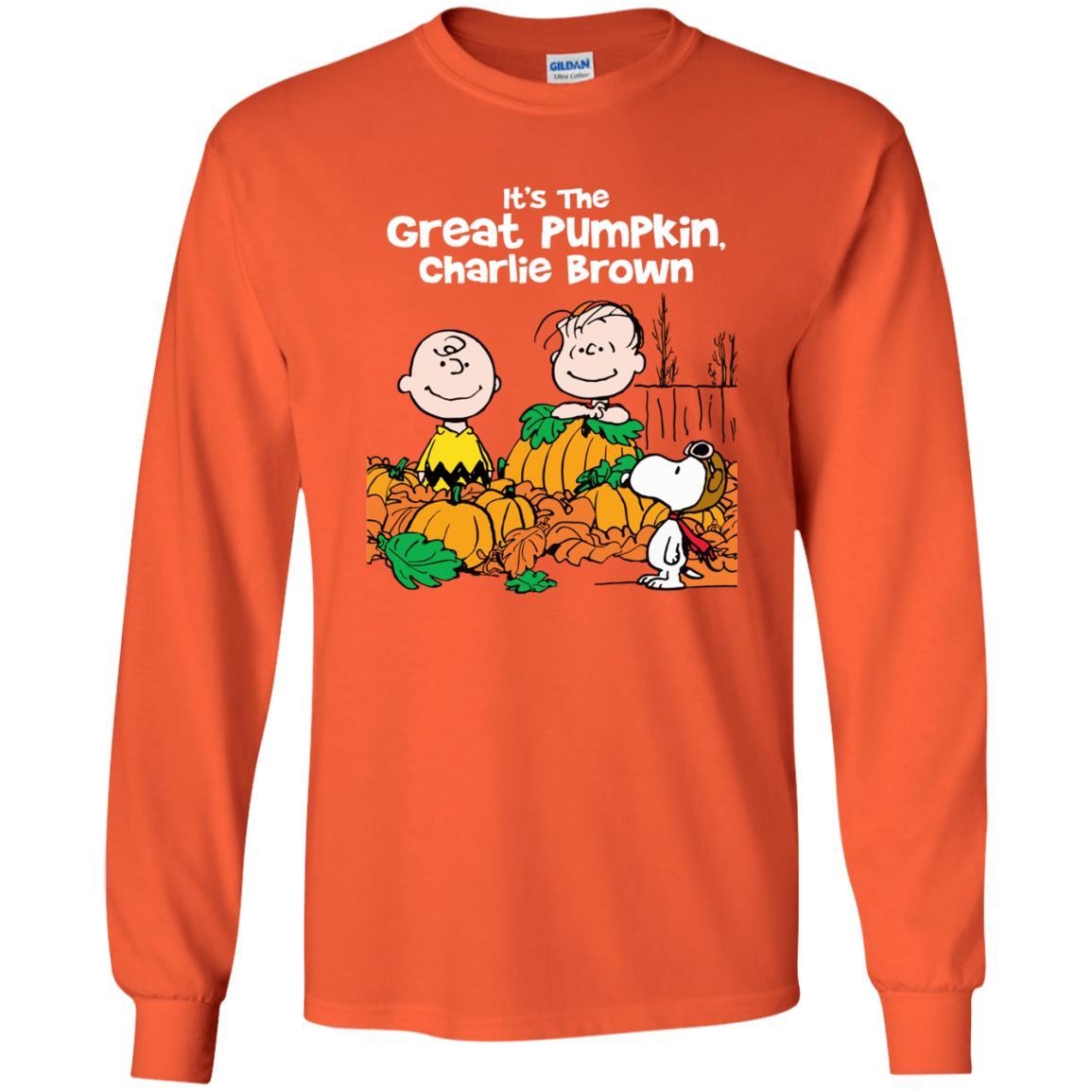 image 256 - It's the Great Pumpkin Charlie Brown shirt, hoodie, tank