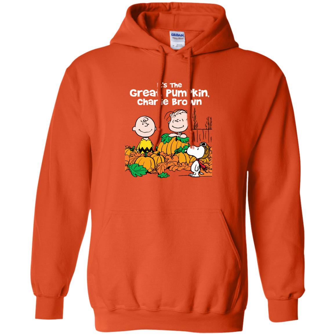 image 258 - It's the Great Pumpkin Charlie Brown shirt, hoodie, tank