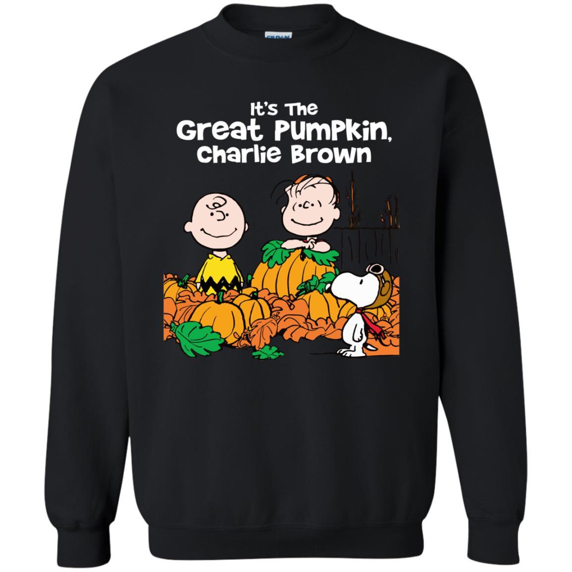 image 259 - It's the Great Pumpkin Charlie Brown shirt, hoodie, tank
