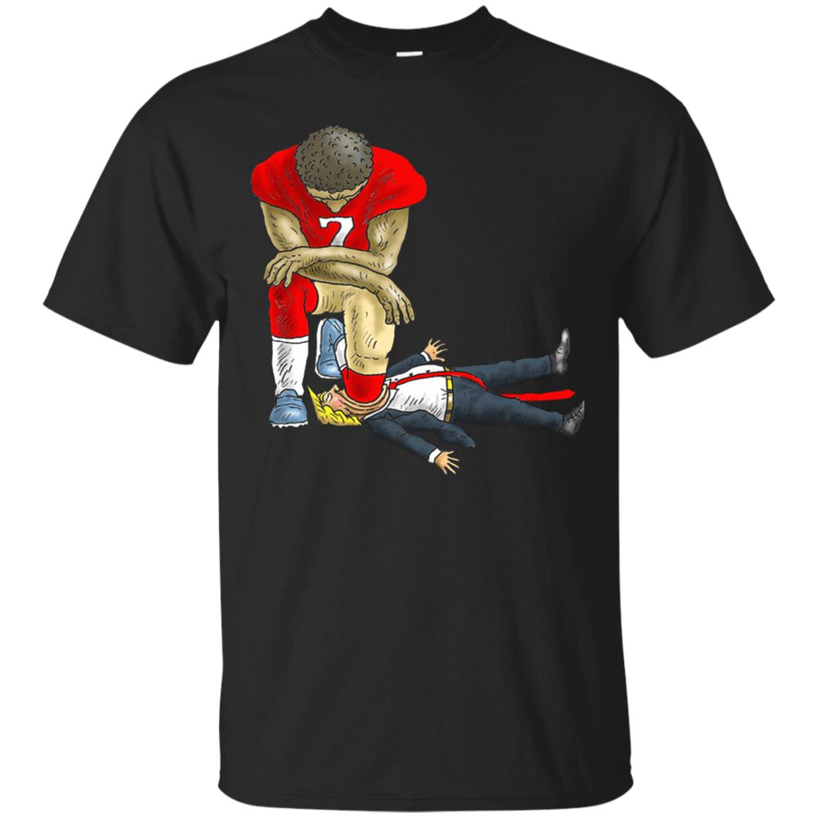image 26 - Colin Kaepernick kneels Donald Trump t-shirt, hoodie