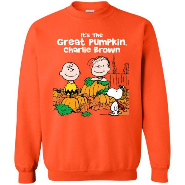 image 260 600x600 - It's the Great Pumpkin Charlie Brown shirt, hoodie, tank