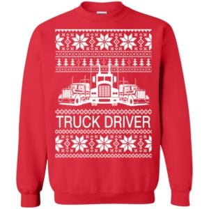 image 2629 300x300 - Truck Driver Ugly Christmas Sweater, Hoodie, Long Sleeve
