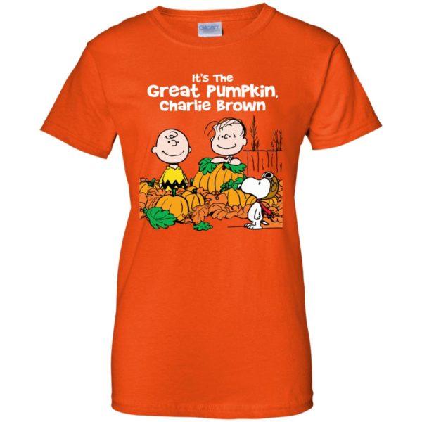 image 264 600x600 - It's the Great Pumpkin Charlie Brown shirt, hoodie, tank