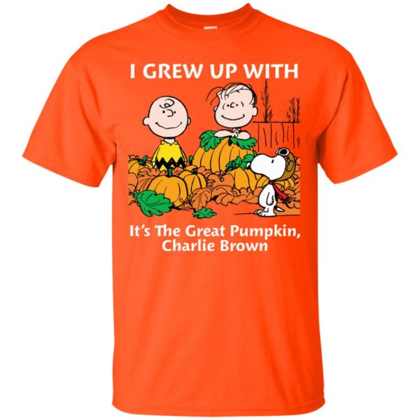 image 266 600x600 - Charlie Brown: I grew up with It's The Great Pumpkin shirt, sweater