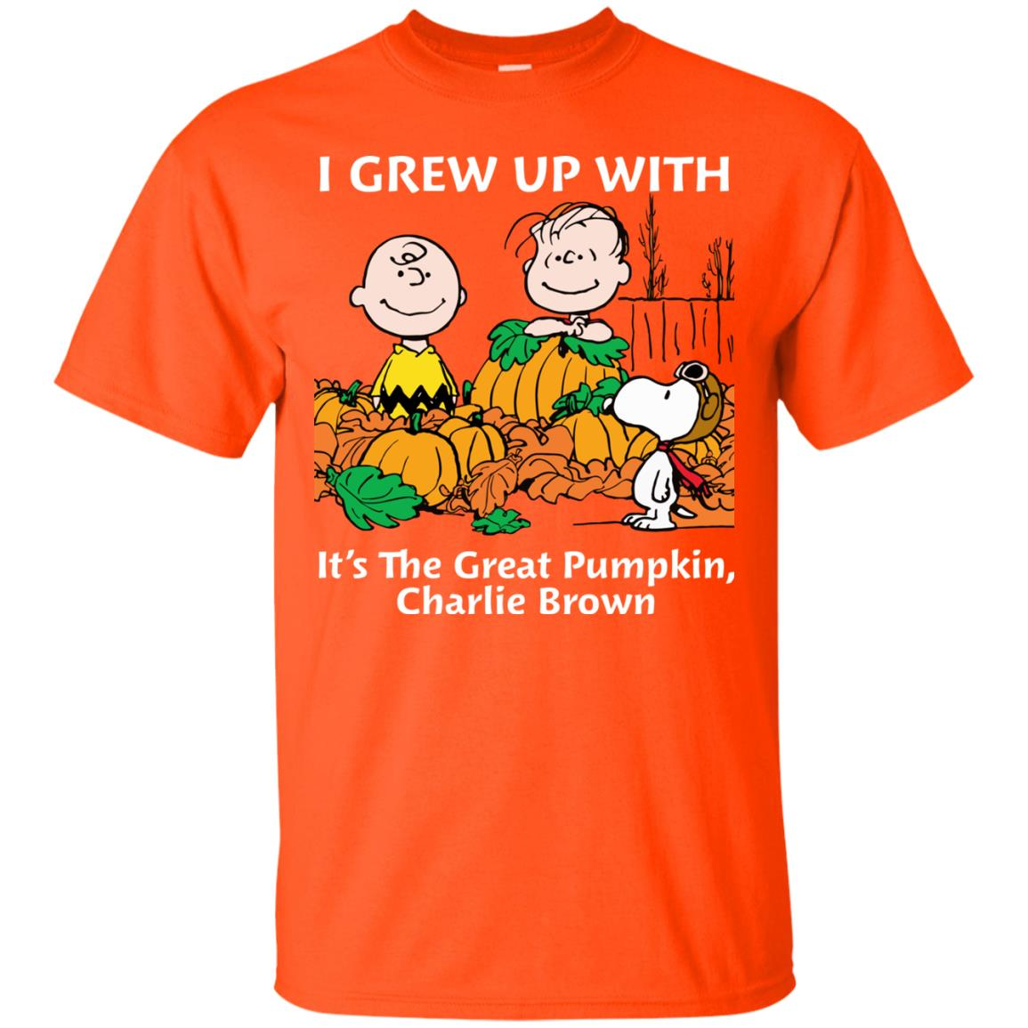 image 266 - Charlie Brown: I grew up with It's The Great Pumpkin shirt, sweater