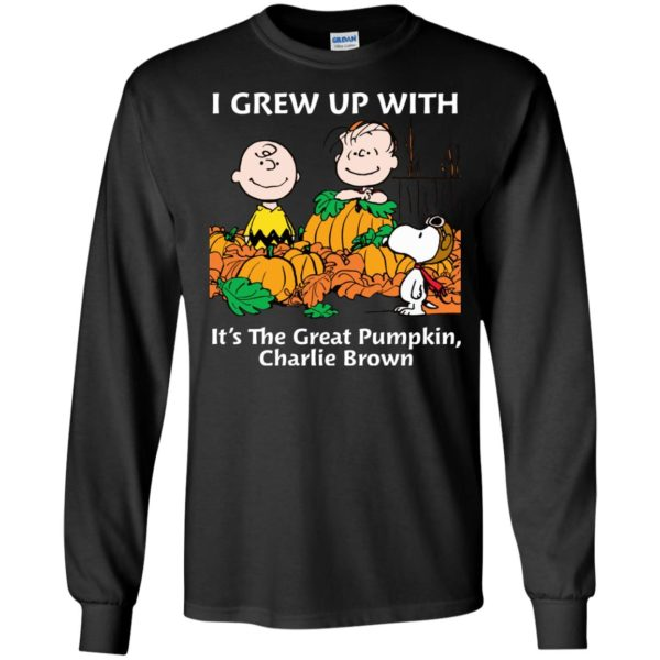 image 268 600x600 - Charlie Brown: I grew up with It's The Great Pumpkin shirt, sweater