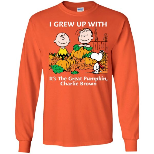 image 269 600x600 - Charlie Brown: I grew up with It's The Great Pumpkin shirt, sweater