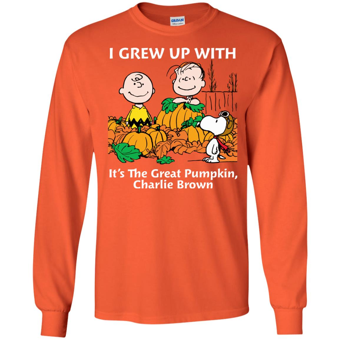 image 269 - Charlie Brown: I grew up with It's The Great Pumpkin shirt, sweater