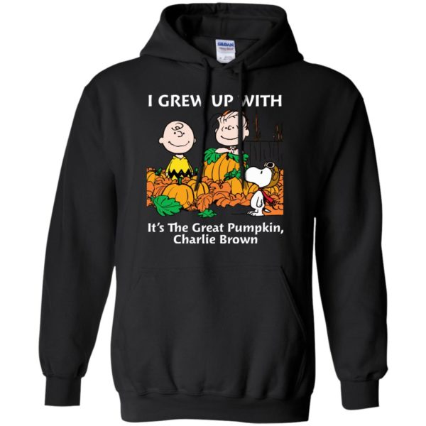 image 270 600x600 - Charlie Brown: I grew up with It's The Great Pumpkin shirt, sweater