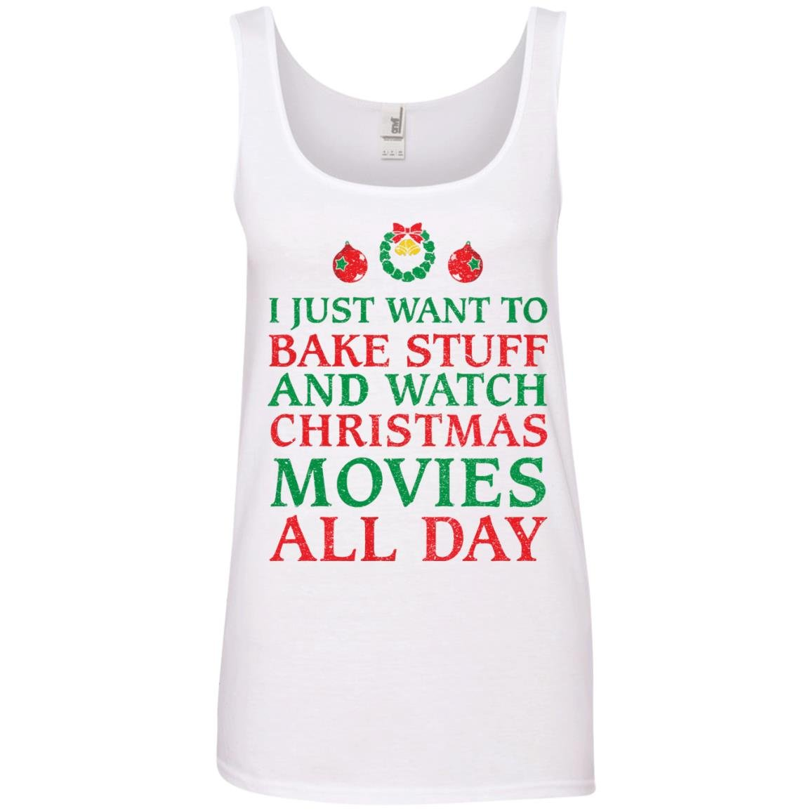 image 2703 - I Just Want to Bake Stuff and Watch Christmas Movie All Day Sweater, Ugly Sweatshirts