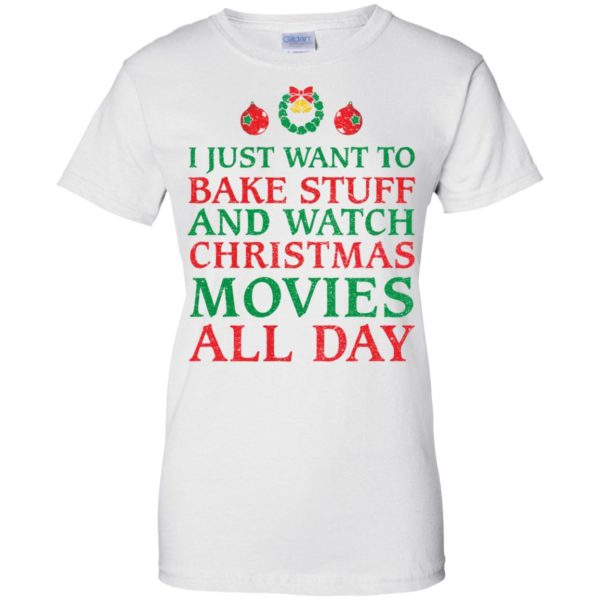 image 2705 600x600 - I Just Want to Bake Stuff and Watch Christmas Movie All Day Sweater, Ugly Sweatshirts