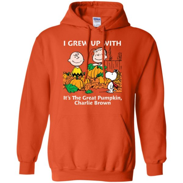 image 271 600x600 - Charlie Brown: I grew up with It's The Great Pumpkin shirt, sweater