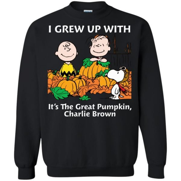 image 272 600x600 - Charlie Brown: I grew up with It's The Great Pumpkin shirt, sweater