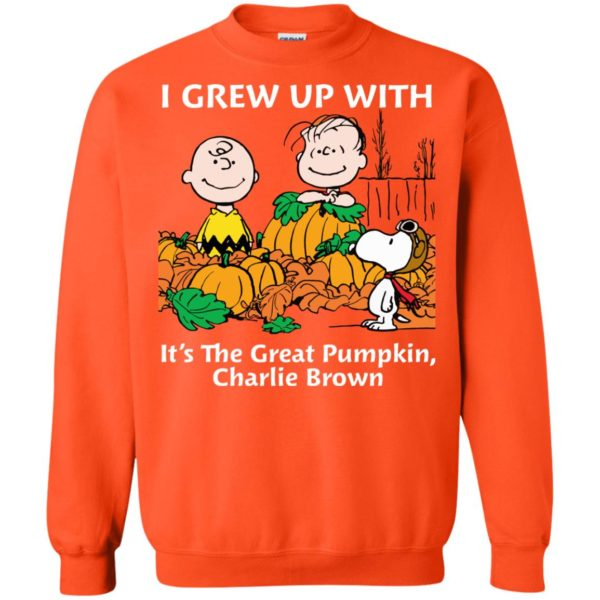 image 273 600x600 - Charlie Brown: I grew up with It's The Great Pumpkin shirt, sweater