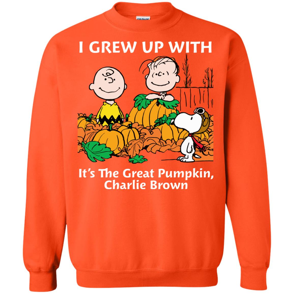 image 273 - Charlie Brown: I grew up with It's The Great Pumpkin shirt, sweater