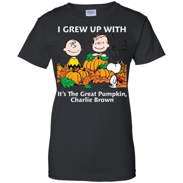 image 276 600x600 - Charlie Brown: I grew up with It's The Great Pumpkin shirt, sweater