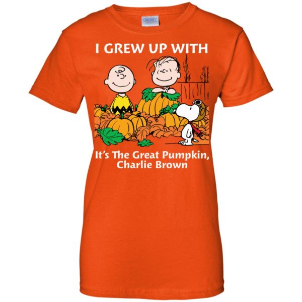 image 277 600x600 - Charlie Brown: I grew up with It's The Great Pumpkin shirt, sweater