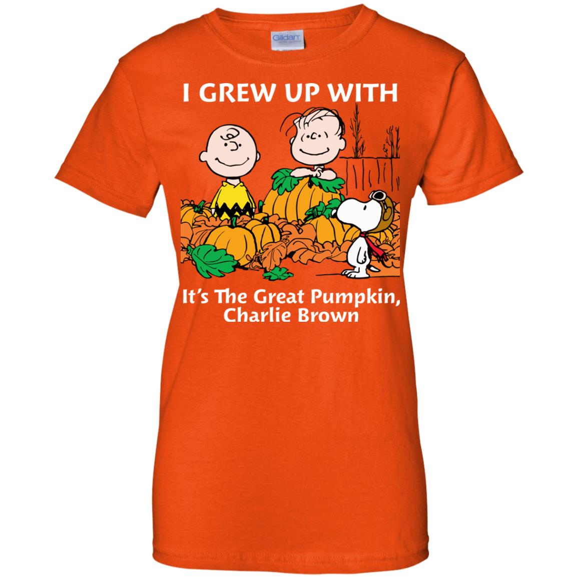 image 277 - Charlie Brown: I grew up with It's The Great Pumpkin shirt, sweater