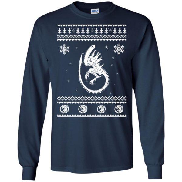 image 2842 600x600 - Xeno-mas - Aliens Xenomorph Christmas Sweater, Shirt, Hoodie