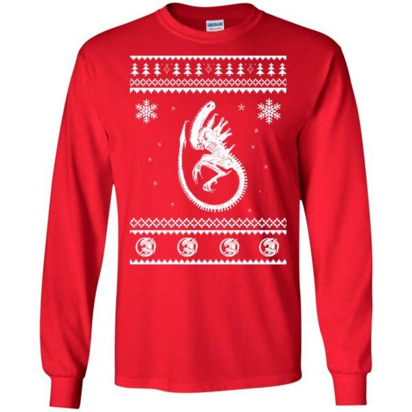 image 2843 600x600 - Xeno-mas - Aliens Xenomorph Christmas Sweater, Shirt, Hoodie