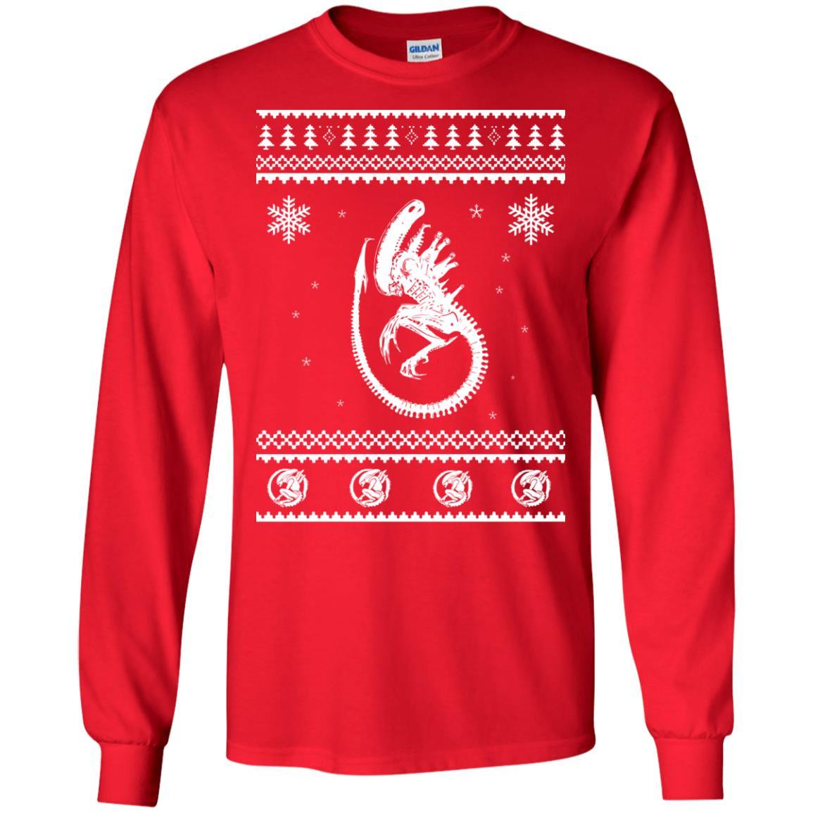 image 2843 - Xeno-mas - Aliens Xenomorph Christmas Sweater, Shirt, Hoodie