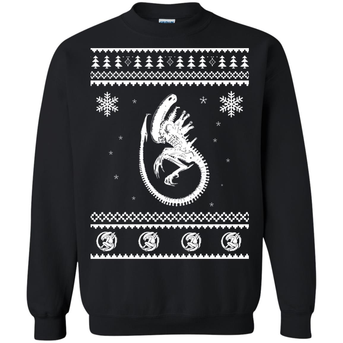 image 2847 - Xeno-mas - Aliens Xenomorph Christmas Sweater, Shirt, Hoodie