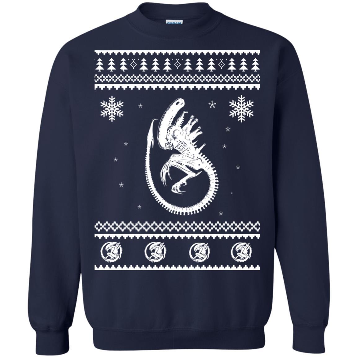 image 2848 - Xeno-mas - Aliens Xenomorph Christmas Sweater, Shirt, Hoodie