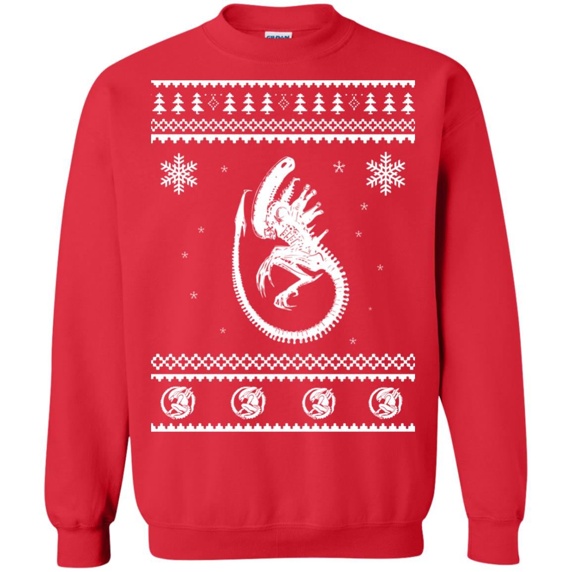 image 2849 - Xeno-mas - Aliens Xenomorph Christmas Sweater, Shirt, Hoodie
