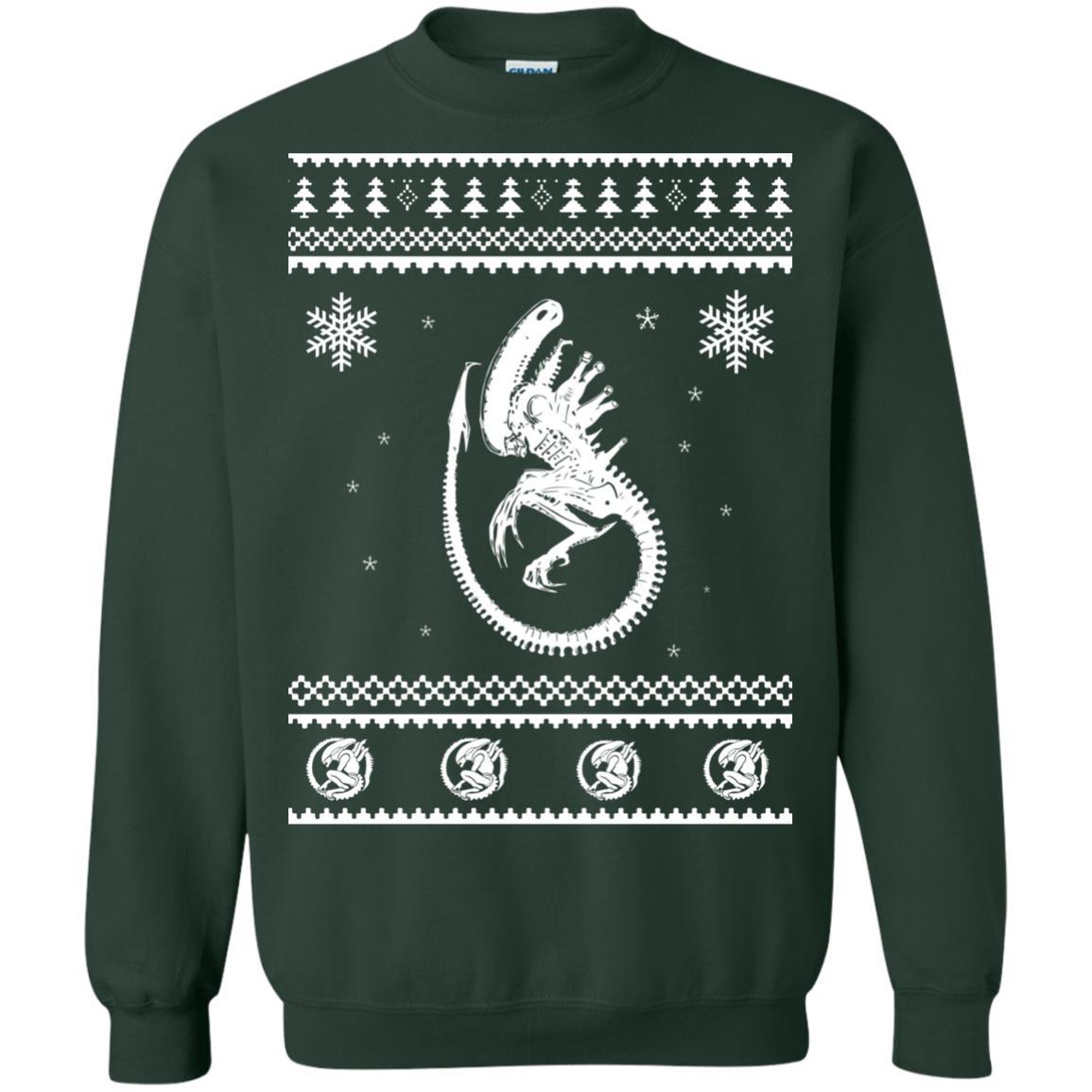 image 2850 - Xeno-mas - Aliens Xenomorph Christmas Sweater, Shirt, Hoodie