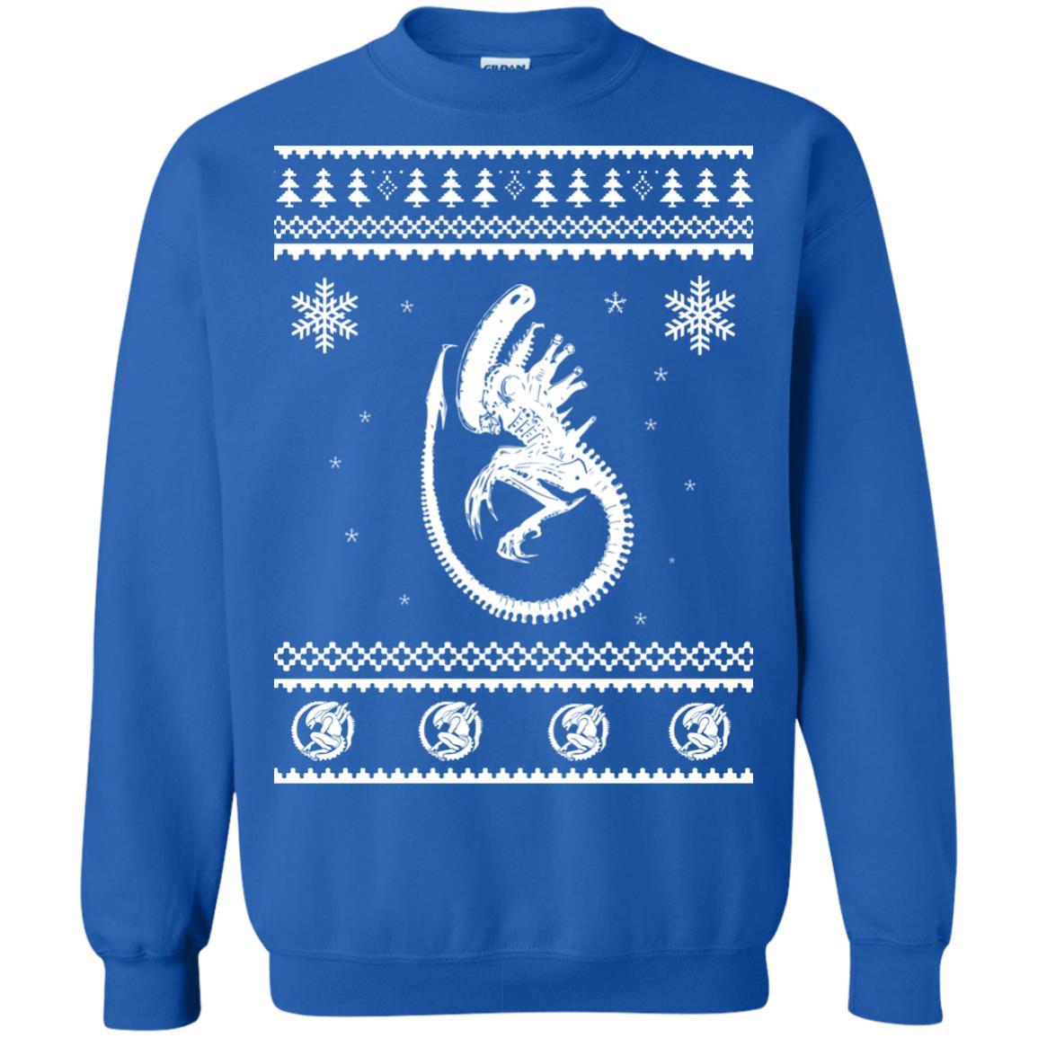 image 2851 - Xeno-mas - Aliens Xenomorph Christmas Sweater, Shirt, Hoodie